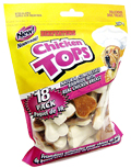 Beefeaters Chicken Top Compressed Bone (3'', 4'', 6'', 8'', 10'', 12'' Length; 1-18-Packs)
